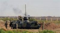 Столкновения на границе Сирии