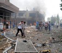 В турецком Рейханлы прогремел третий за сутки взрыв