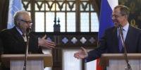 Лавров и Брахими обсудили объединение всех оппозиционных сил