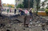 Около границы Турции с Сирией прогремели четыре взрыва