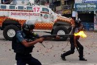 От рук полиции погибли десятки мусульман