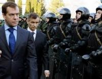 Разгонять несогласных в Москве будут чеченцы из армии академика Кадырова