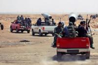 600 ливийских мятежников проникли на территорию Сирии