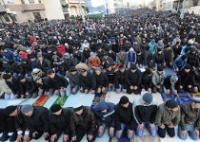 170 тысяч человек приняли участие в праздничных молитвах в Москве и 40 тысяч – в Санкт-Петербурге
