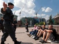 В Москве ОМОН разогнал мирную акцию