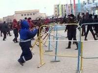Массовые беспорядки произошли на станции Шетпе на западе Казахстана