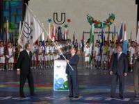 В Казань доставлен флаг Универсиады