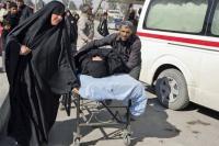 В одном из священных городов шиитов в Ираке прогремело три взрыва
