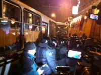 Москва второй день подавляет протесты против Путина