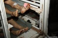 В Жанаозене охотнее показывают морг, чем раненых