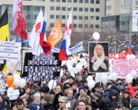 Митинг на Сахарова по числу участников обошел Болотную площадь