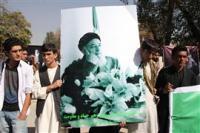 Афганцы прощаются сегодня с убитым во вторник Бурхануддином Раббани