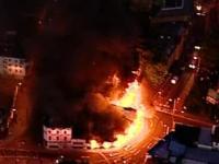 Уличные беспорядки охватили Ливерпуль