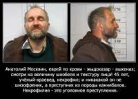 Главарь банды некрофилов-погромщиков, осквернявшей могилы мусульман - ученый-краевед