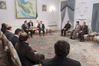 Ахмадинежад: оккупанты прилагают все свои усилия, пытаясь спасти сионистский режим