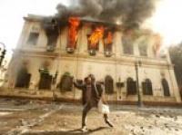 Протестующие в Каире сожгли Научный центр, построенный еще при Наполеоне