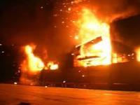В Дагестане сгорели три магазина, торгующие алкоголем