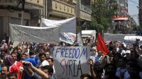 Бронетехника вошла в охваченную митингами протеста Латакию в Сирии