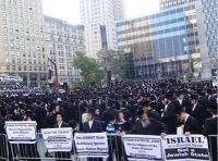 CNN и BBC скрыли от мира многотысячную акцию протеста евреев против сионистского Израиля. Видео