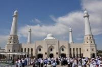 В Южном Казахстане открылась самая большая мечеть региона
