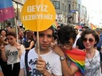 Сообщество лесбиянок, геев, бисексуалов и трансгендеров протестует в Турции против Эрдогана