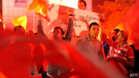 """Тысячи сторонников приветствовали Эрдогана в аэропорту Стамбула: """"Мы умрем за тебя, Эрдоган!"""""""