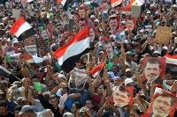 Марш миллионов в Египте за возвращение Мухаммеда Мурси к власти – прямая трансляция