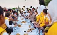 Бизнесмены разделили первый ифтар с сирийскими беженцами