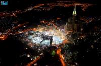 Запретная Мечеть с высоты 3 000 футов
