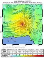 В результате подземных толчков в Пакистане погибли десятки людей и образовался остров