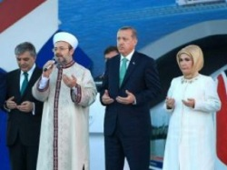 В Турции открыт тоннель под Босфором