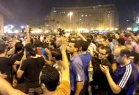 Сторонники Мурси устроили демонстрацию на Тахрире