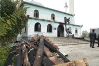 Крымские мусульмане считают поджег мечети в Саках провокацией