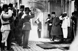 Историческая роль  Мехмеда VI Вахидеддина
