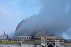 В исторической мечети произошел пожар