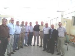 Делегация Оксфордского университета посетила Газу