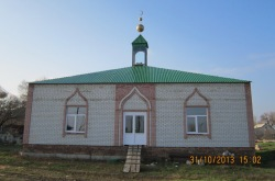 В Куриловке завершается строительство мечети
