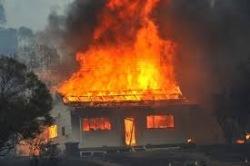 Израильские оккупанты подожгли дом палестинской семьи
