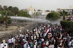 В Каире полиция разогнала водометами демонстрантов, протестующих против закона о митингах