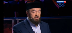 Обсуждение национальных проблем в России на телевизионном  канале «Россия» с участием муфтия Нафигуллы Аширова