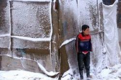 Сирийские беженцы беззащитны перед суровой зимой