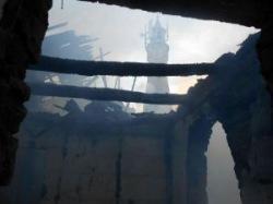 Сельская мечеть сгорела дотла