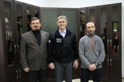 Сопредседатель СМР встретился с известными альпинистами