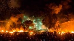 Січень. Україна. Пожежа...