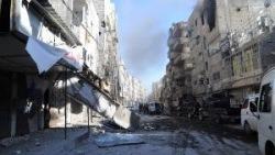 Сирийский телеканал вышел в эфир на фоне убитых жителей Хомса