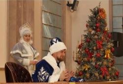 Рамзан Кадыров - дед мороз
