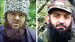 Доку Умаров and Асламбек Вадалов