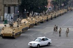 Египетские военные добились помощи США