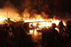 Въезд в Киев временно закрыт