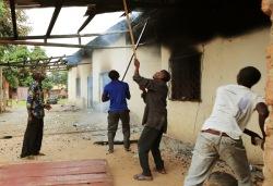 Большинство мечетей в стране уничтожены